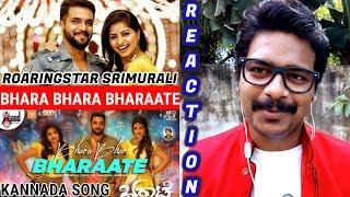 Bhara Bhara Bharate Song Reaction Roaring Star Sriimurali Sree Leela Chethan Kumar Arjun Janya