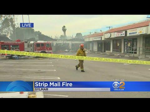 Marijuana Dispensary At Center Of Sylmar Strip Mall Fire Investigation