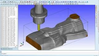 Condacam 2.1 CNC-Simulation-Holdercollision