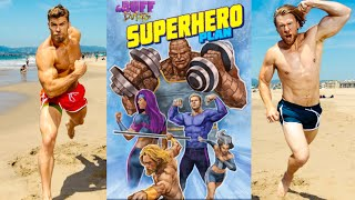 BECOME A SUPERHERO | Buff Dudes Superhero Plan