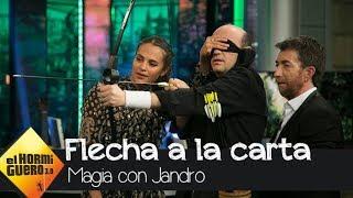 El homenaje de Jandro a la nueva película de Alicia Vikander - El Hormiguero 3.0