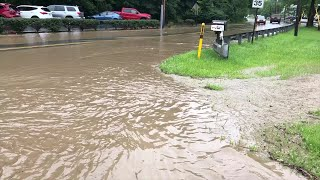Flooding on Babcock Boulevard