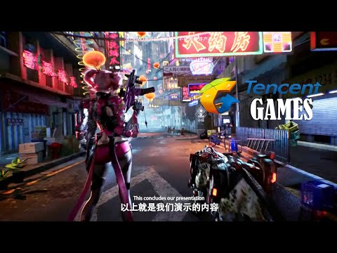 Tencent Game Conference Trailer Games (Metal Slug And More) 2020
