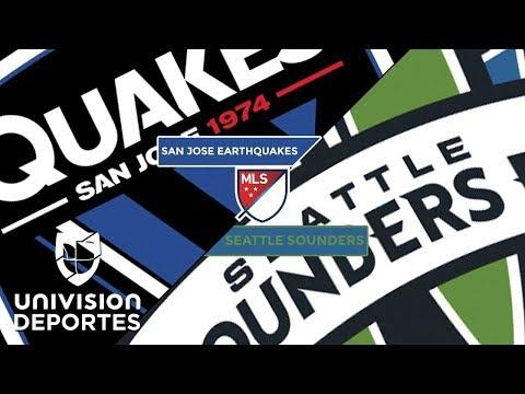 San Jose Earthquakes 0-1 Seattle Sounders FC - RESUMEN Y GOLES - MLS Regular Season Highlights