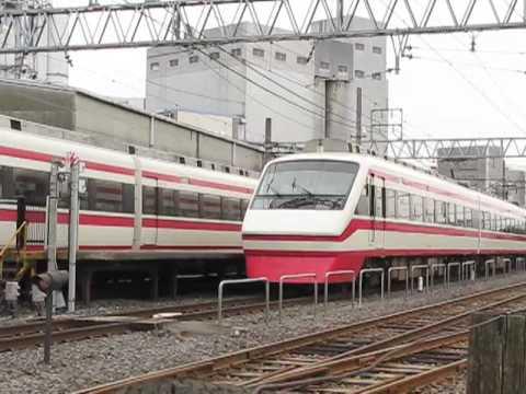 2008.9.28 赤城駅着 東武鉄道 り...