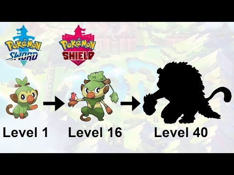 grookey-evolution-!-pokemon-sword-&-shield-starter-fanart