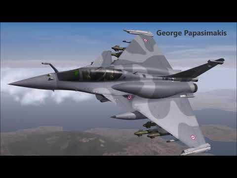 Το μαχητικό πολλαπλών ρόλων Rafale της Dassault aviation