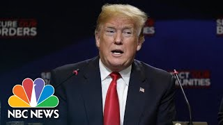 President Donald Trump Doubles Down On Labeling MS-13 Gang Members As 'Animals' | NBC News