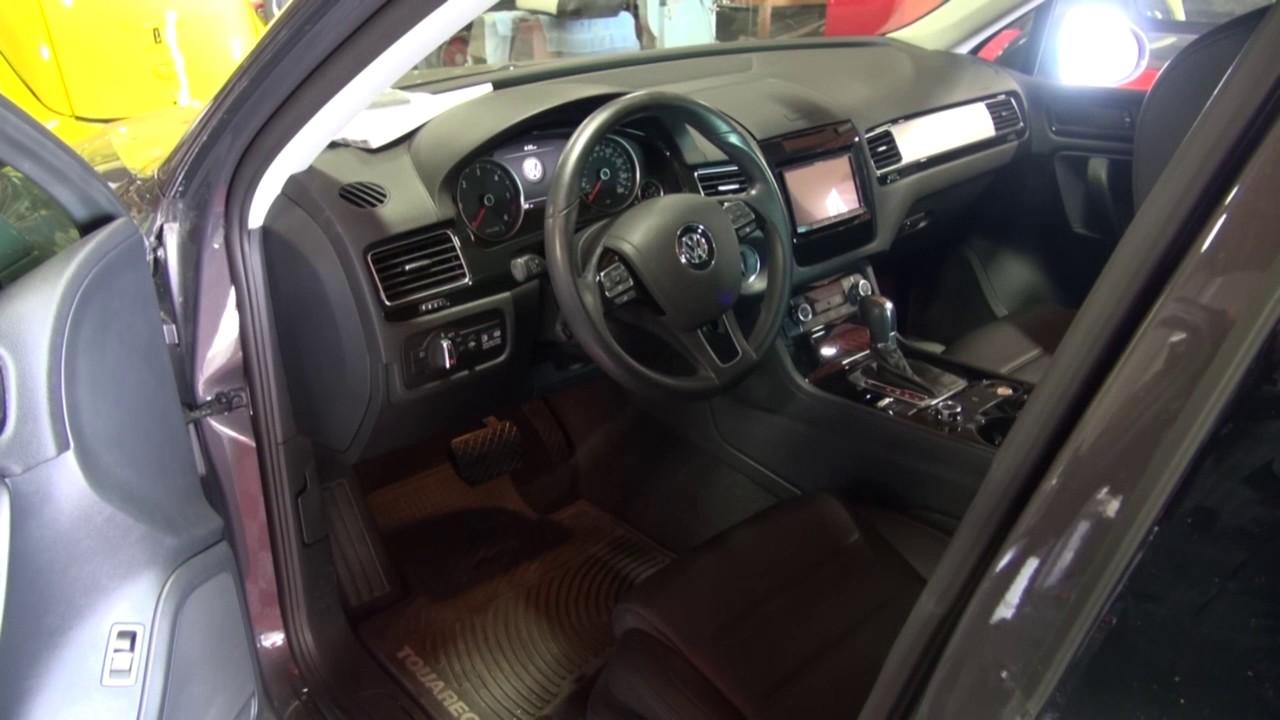 VW Touareg Apple Car Play Upgrade by Monney