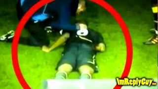 Fabrice Muamba collapses at White Heart Lane