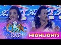 It's Showtime Miss Q & A: Alma July Concepcion tries to steal the crown to Arah De Manila