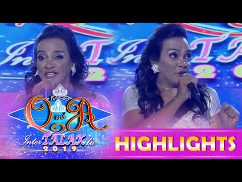 Its Showtime Miss Q & A: Alma July Concepcion tries to steal the crown to Arah De Manila