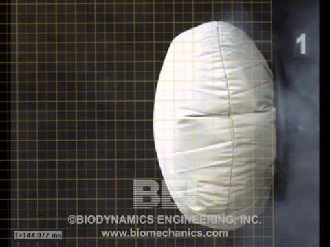 airbag deployment in slow motion youtube. Black Bedroom Furniture Sets. Home Design Ideas