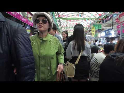 [4K] Walking around Gwangjang Market, Seoul, Korea - 광장시장