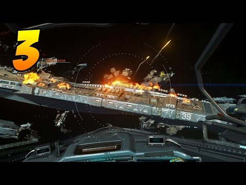 Infinite Warfare Campaign Gameplay - Part 3 - FLYING IN SPACE! (Black Sky)