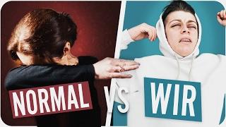 NORMALE MENSCHEN vs WIR (mit Fabians Mutter)