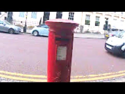 Royal Mail Red Post Box - Regents Park London - Post Boxes