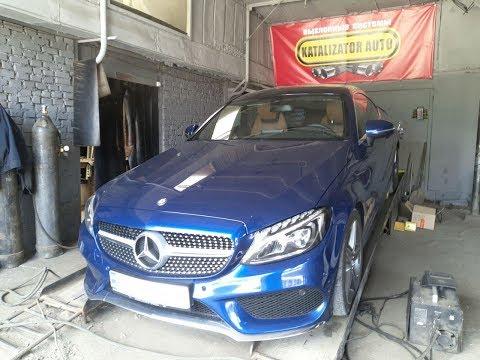 Тест активного выхлопа Ix-sound на Mercedess C-class 2.0 Tdi, 2016 | Katalizator Auto