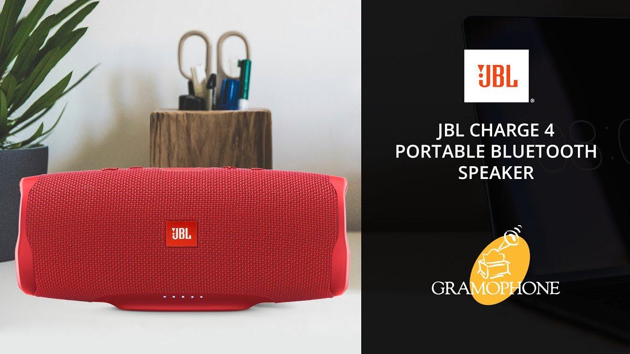 Jbl Charge 4 Waterproof Wireless Bluetooth Speaker Bundle With Gsport