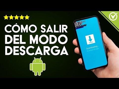 Cómo Salir del Modo Download o Descarga en Celular o Tablet Android
