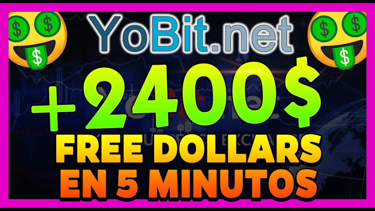 GANA +2400$ FREE DOLLARS CON ESTE AIRDROP 🤑 | YOBIT AIRDROP NUEVO (FreeDollar y Easy Cash Token)  🔥