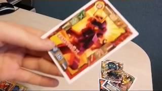 Новые карточки лего ниндзяго!!! Как играть, большой набор