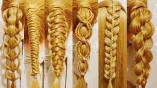 Модные прически в школу. Как плести красивые косички? Техника плетения различных видов кос.