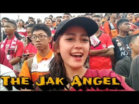 Suporter cantik the jak angel away solo