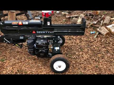 30 TON COUNTY LINE SPLITTER REVIEW - YouTube