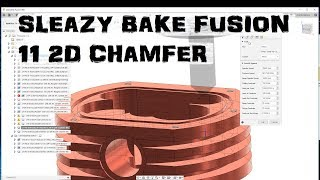 Speedy Fusion 360 Ep. 11 2d Chamfer