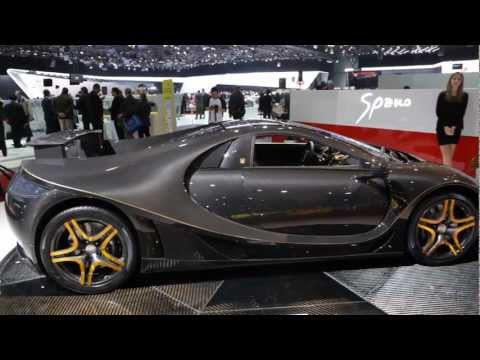 2013 GTA Spania Super Car Geneva Motor Show 2013 Commercial Carjam TV HD Car TV Show