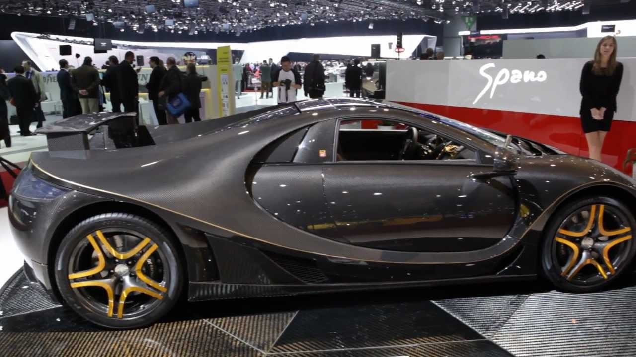 GTA Spania Super Car Geneva Motor Show Commercial Carjam - Car tv shows