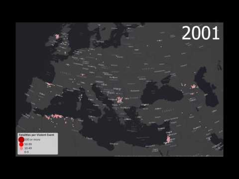 Terrorism in Europe and the Middle East, 1970-2015