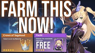 How To Get Your Free Fischl + More! Genshin Impact