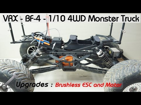 VRX - BF-4 - 1/10 4WD Monster truck - Review - Page 2 - RC Groups