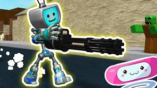 ZOMBIE ATTACK with Melody - Robots VS Zombies (Roblox) ► Fandroid the Musical Robot!