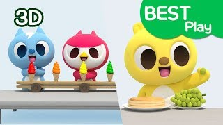 [Miniforce] Play video for kids   Eating + Color + Cook Play etc   Best play   Miniforce Kids Play
