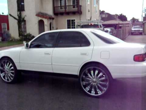 1st 90 Somethin Camry On 20 What By Quot Hulk Kustoms Quot Youtube