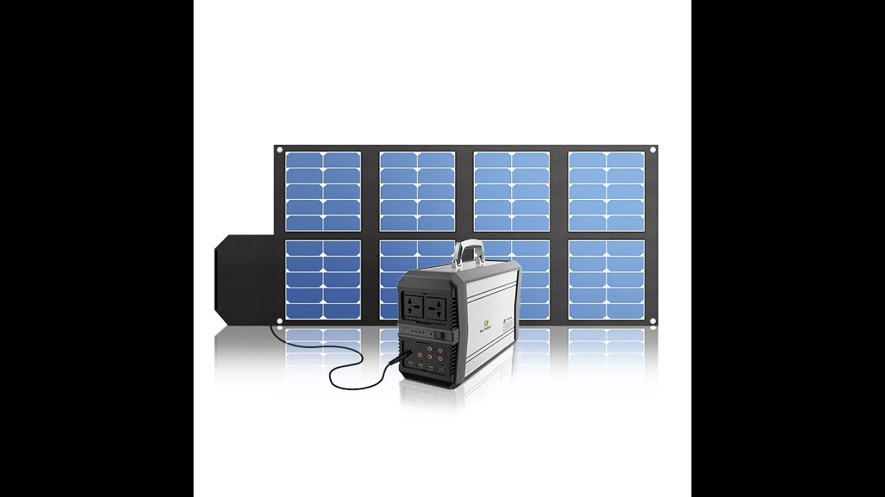 video 1000w Sungzu Portable Rechargeable Wholesale Solar Battery