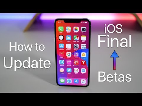 How to Update iOS 13 Beta to the Final Public iOS Release