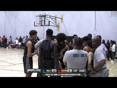 Oakland Soldiers 17 EYBL  vs Chuck Hayes Boys AAU Basketball LIVE 4/8/17
