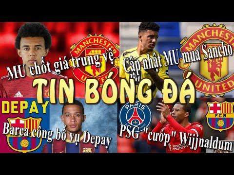 Tin Bóng Đá - Chuyển Nhượng - 07/06/2021: Cập nhật MU mua Sancho,PSG cướp Wijnaldum trước mũi Barca