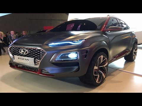 Upcoming cars in india 2017 l Hyundai Kona SUV Revealed,  l price, spec launch date