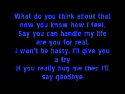 Spice Girls-Wannabe Lyrics