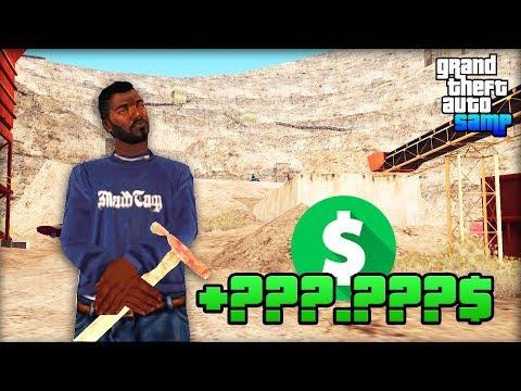 Сколько Зарабатывает Шахтёр на Arizona RP! - Жизнь Бомжа GTA SAMP #104