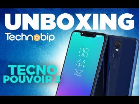 [Unboxing] Tecno Pouvoir 3 مراجعة هاتف تكنو بوفوار