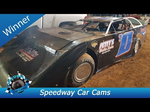#T0 Travis Fultz - Winner - Sportsman Late Model - 9-3-17 Tazewell Speedway - In Car Camera