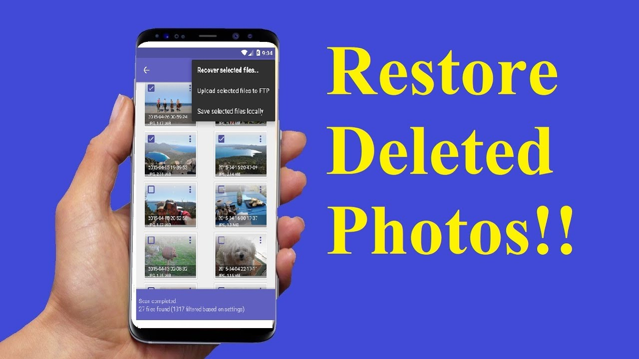 Android Data Recovery software to recover
