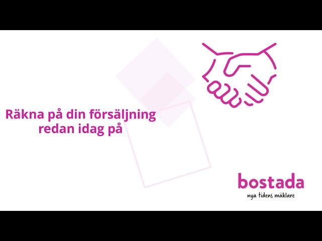 Hitta din mäklare med Bostada.se