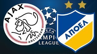 ✅ Ajax v Apoel Nicosia. UEFA Champions League Qualifying. Free Soccer Tips